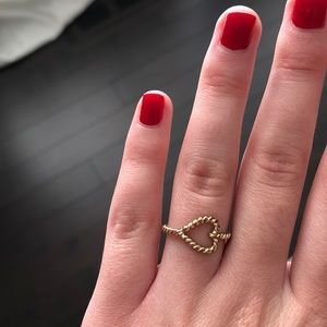 FREE W PURCHASE Brandy Melville Heart Ring
